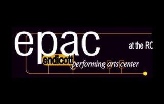 Endicott Performing Arts Center at the RC logo
