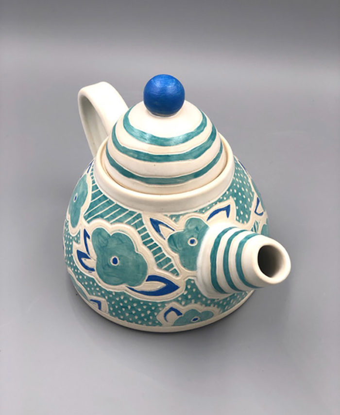 Teapot pottery