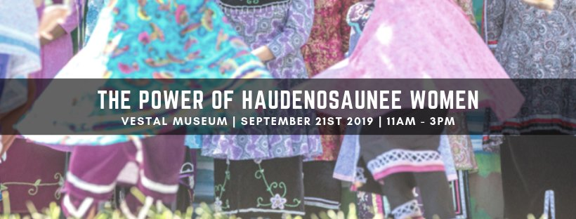 The Power of Haudenosaunee Women | Broome County Arts Council